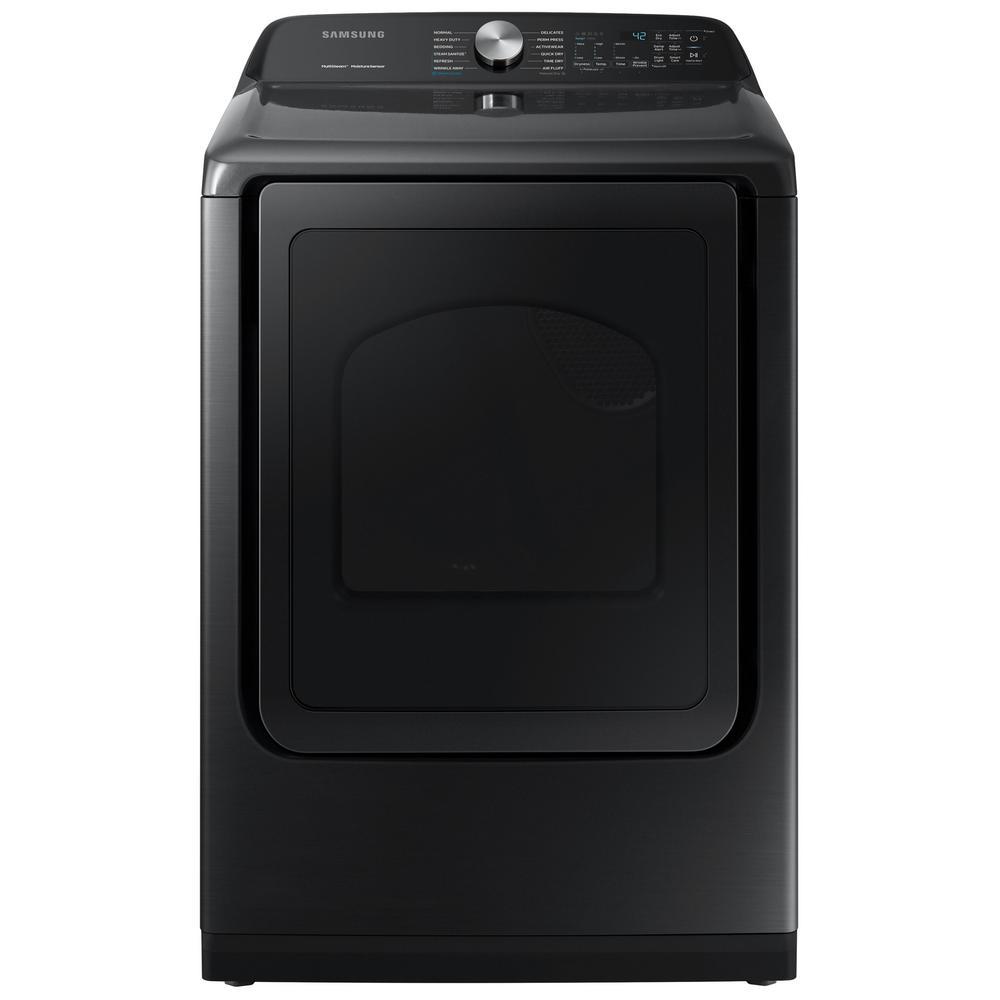 7.4 cu. ft. Fingerprint Resistant Black Stainless with Steam Sanitize+