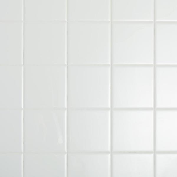Restore Bright White 4-1/4 in. x 4-1/4 in. Ceramic Wall Tile (12.5 sq. ft. / Case)