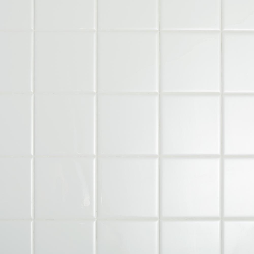 Restore Bright White 4 1/4 In. X 4 1/4 In. Ceramic Wall Tile (400 Sq. Ft. / Pallet) by Daltile