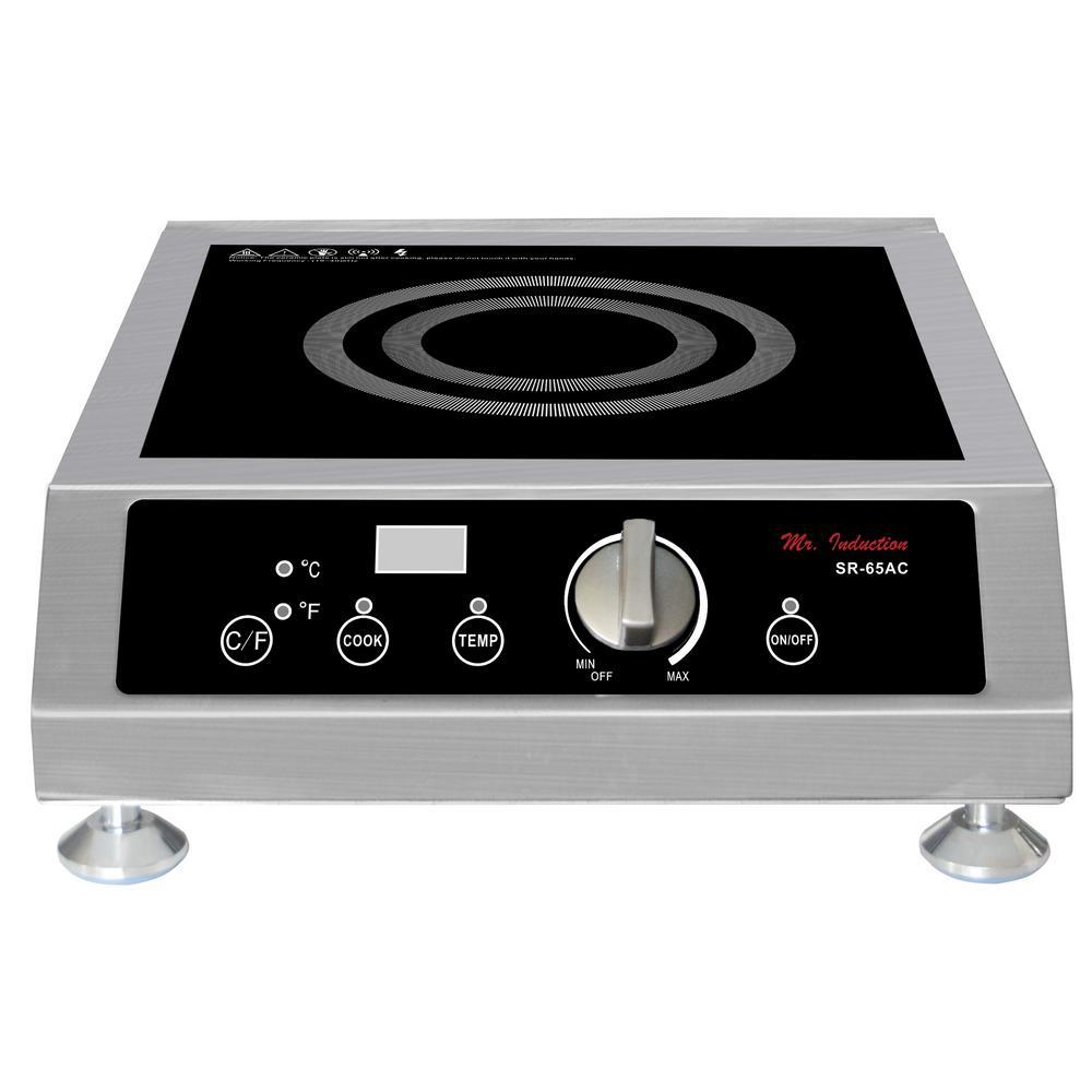 SPT 2600-Watt Commercial Induction Cooktop (Countertop)
