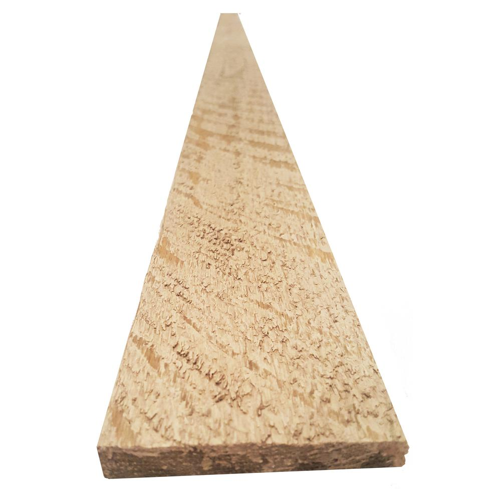 Montana Ghost Wood 1 In X 6 In X 56 Lin Ft Wise White