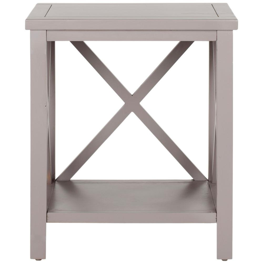 Candence Gray End Table