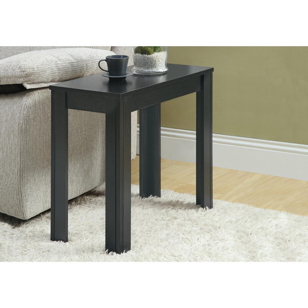 Black Oak Side Table