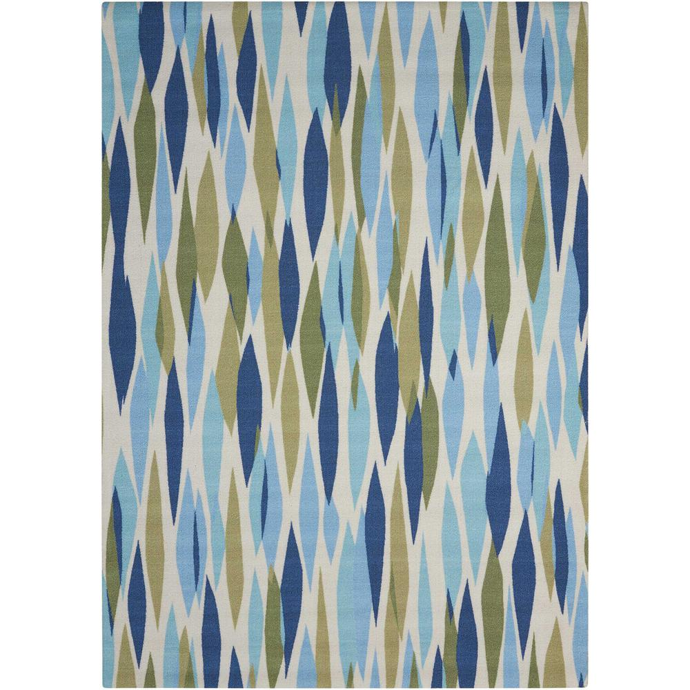 Waverly Bits and Pieces Seaglass 10 ft. x 13 ft. Indoor/Outdoor Area Rug