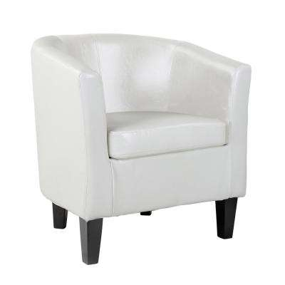 Impressive White Accent Chair Style