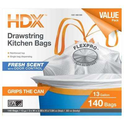 13 Gal. Flexpro Kitchen Bag with Fresh Scent (140-Count)