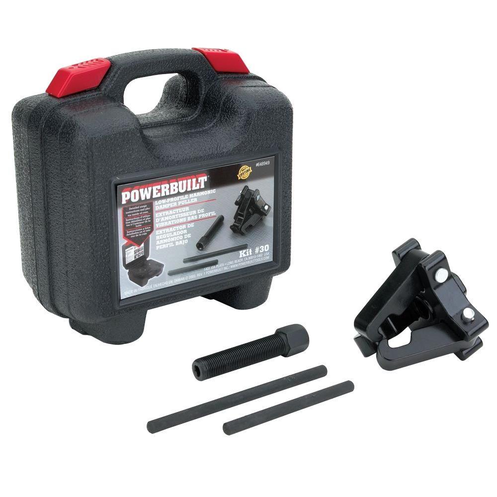 Powerbuilt Harmonic Damper Pulley Puller Kit 648949 The Home Depot