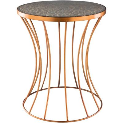 Ounto Copper Accent Table