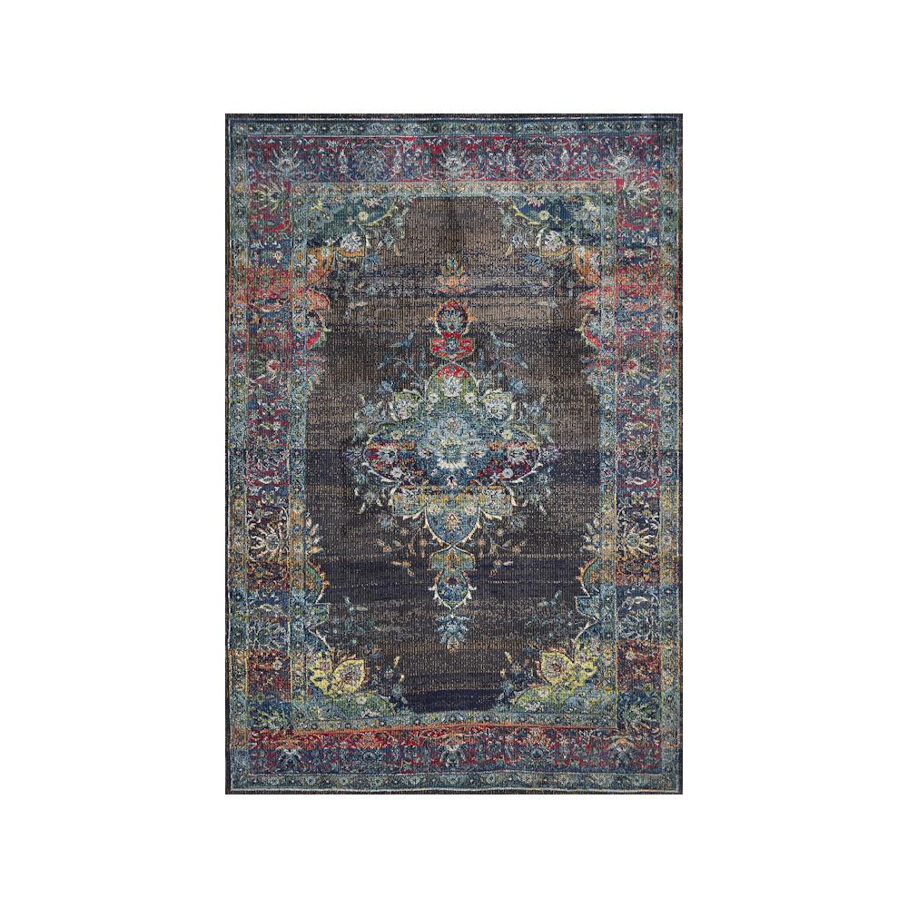 Kas Rugs Dreamweaver 5857 Charcoal Sutton 3 ft. x 5 ft. Area Rug, Grey This Kas Rugs 3 ft. x 5 ft. Area Rug will be a welcoming addition to your home. This rectangular rug has stain-resistant fabrics and fade-resistant materials. It has an oriental pattern for a crafted piece that always stays in style. Designed with black elements, it will tone down your decor. It features 100% polypropylene, making it a lasting choice for your living space. Color: Charcoal.