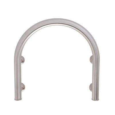 Horseshoe 12 in. x 1 in. Tub Faucet Safety Assist Bar in Brushed Stainless Steel