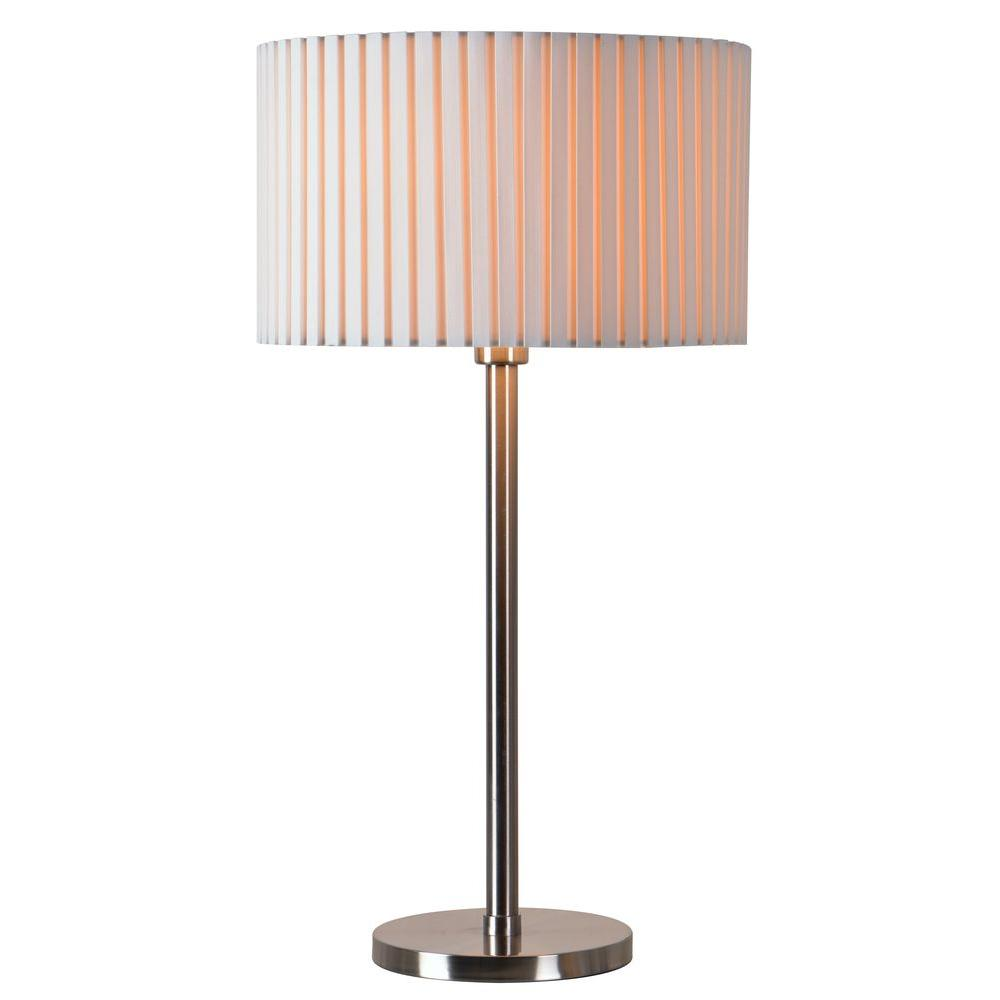 Grace 28 in. Steel Table Lamp