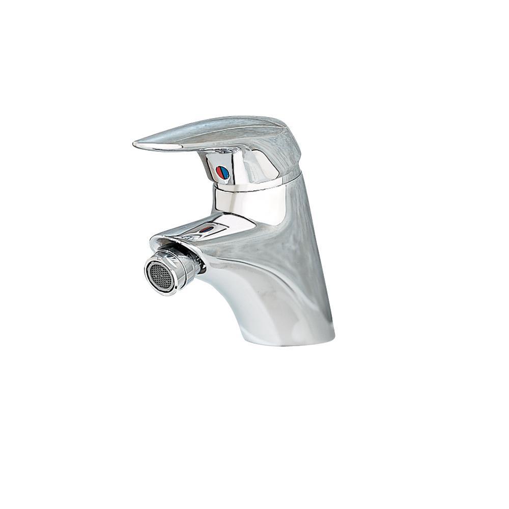 Ceramix Single Handle Bidet Faucet in Polished Chrome