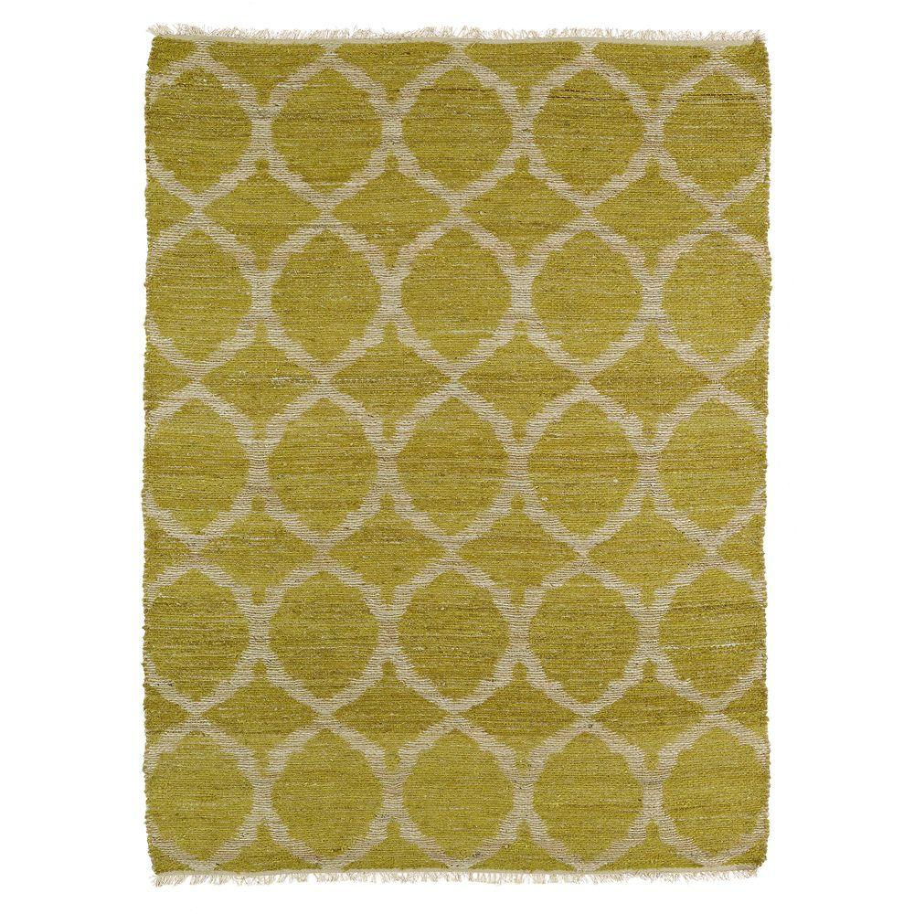 Kaleen Kenwood Wasabi 7 ft. 6 in. x 9 ft. Double Sided Area Rug