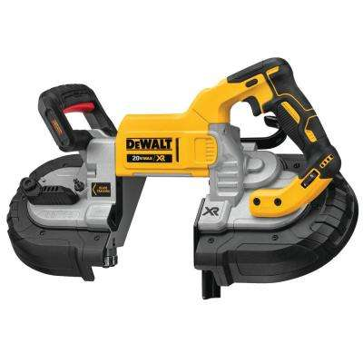 20-Volt Max Lithium-Ion Cordless 5 in. Capacity Bandsaw (Tool Only)