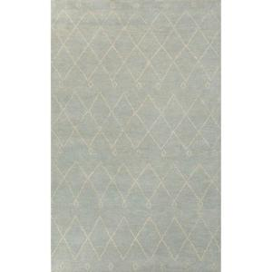 Caldwell Sterling Blue 5 ft. x 8 ft. Moroccan Area Rug