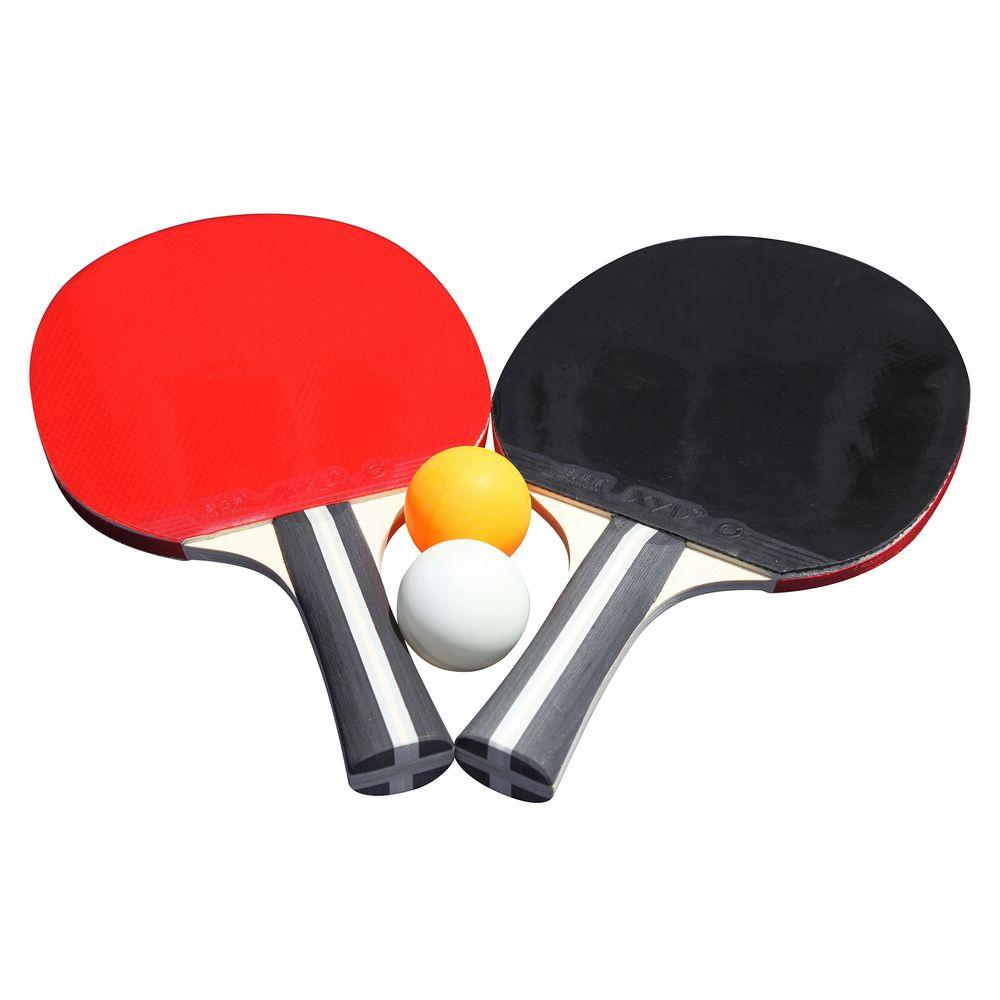2-Player Single Star Control Spin Table Tennis Racket and Ball Set  sc 1 st  The Home Depot & Ping Pong Tables - Game Room - The Home Depot