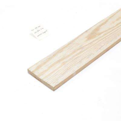 1 in. x 6 in. x 16 ft. #2 Pressure-Treated Pine Board