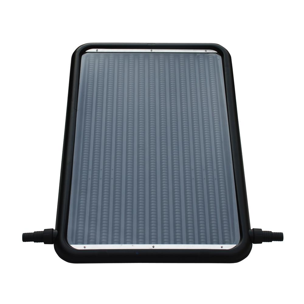 21 in. Solar Flat-Panel Heater for Above Ground Swimming Pools with