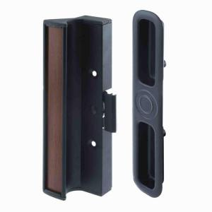 Prime line surface mounted sliding glass door handle with clamp type prime line surface mounted sliding glass door handle with clamp type latch c 1201 the home depot planetlyrics Choice Image