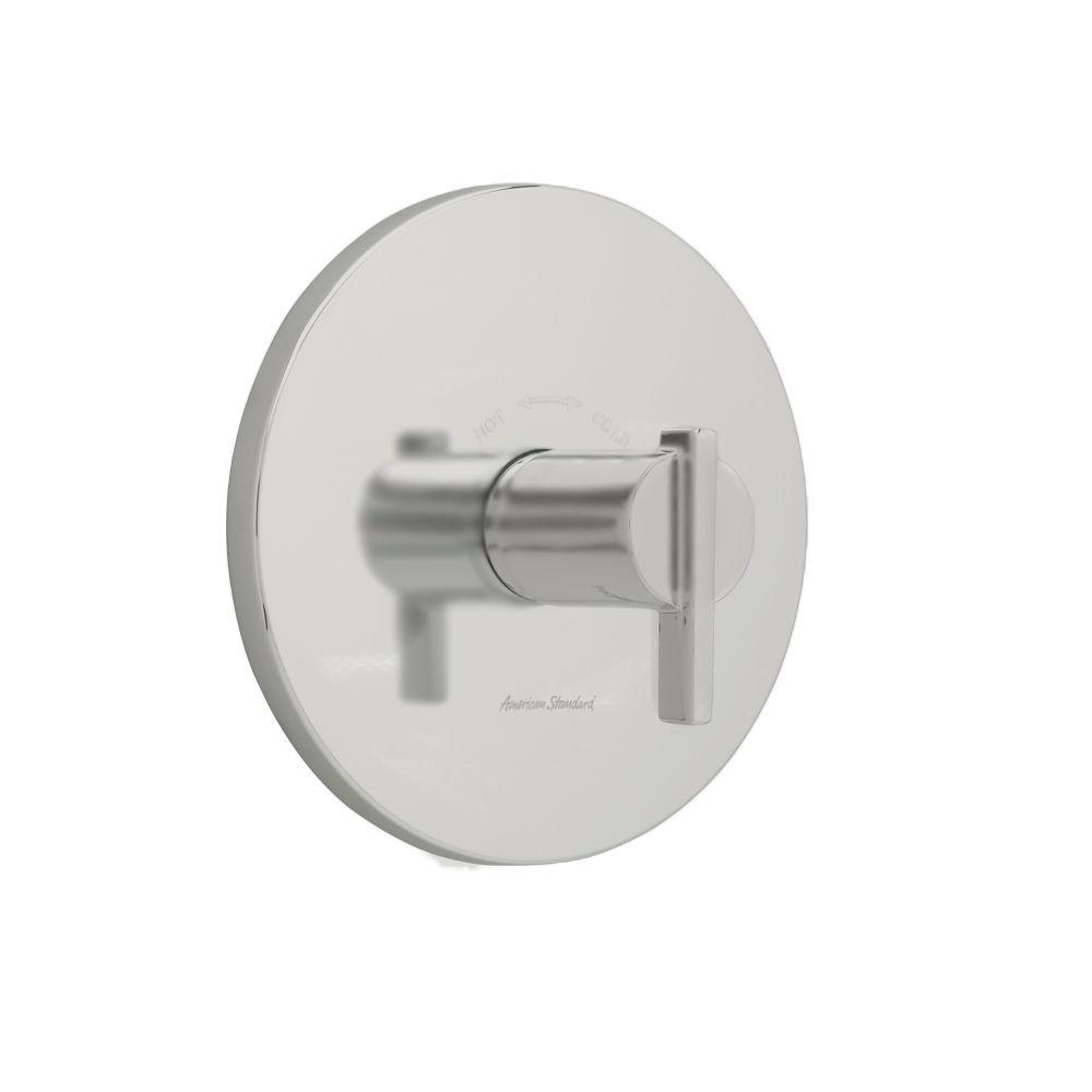 Berwick 1-Handle Central Thermostatic Valve Trim Kit in Brushed Nickel with