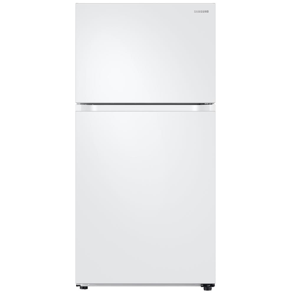 Samsung 21.1 Cu. Ft. Top Freezer Refrigerator With FlexZo.