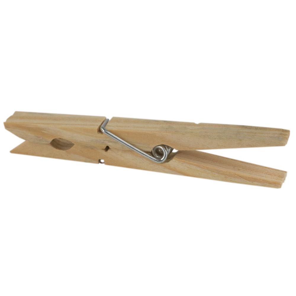 35 In Wooden Clothespin 18 Pack