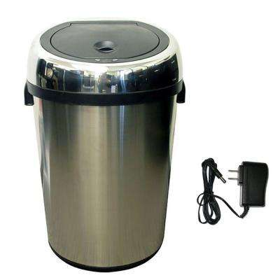 18 Gal. Stainless Steel Motion Sensing Touchless Trash Can
