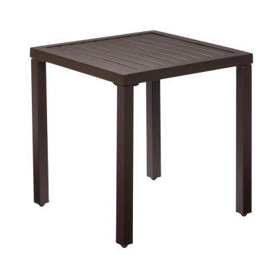Mix and Match Metal Outdoor Side Table