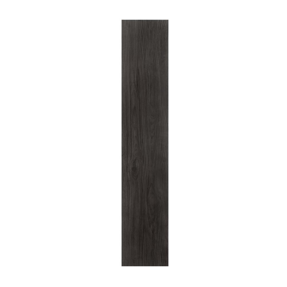 Ebony 9 in. x 48 in. Loose Lay Vinyl Plank Flooring (24 sq. ft. / case)