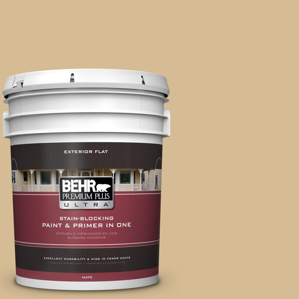 5-gal. #330F-4 Pebble Path Flat Exterior Paint
