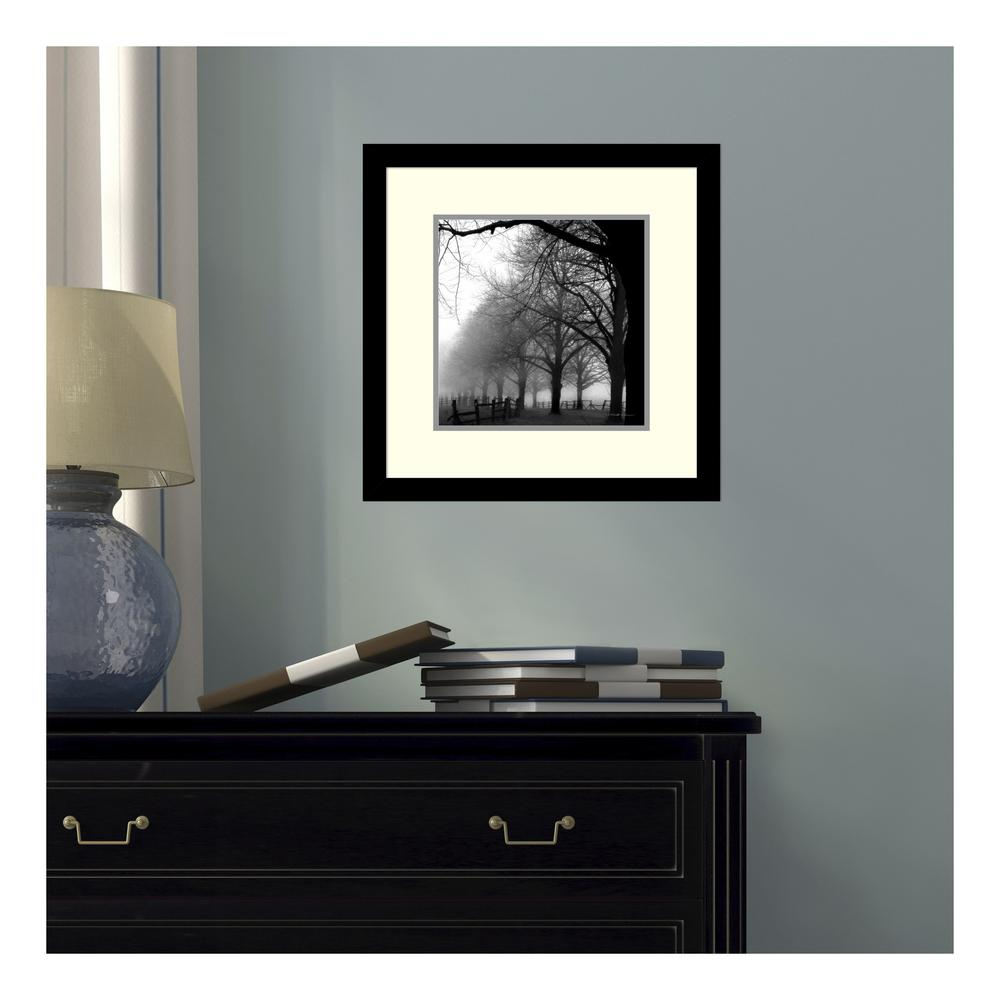 H black and white morning by harold silverman printed framed wall art