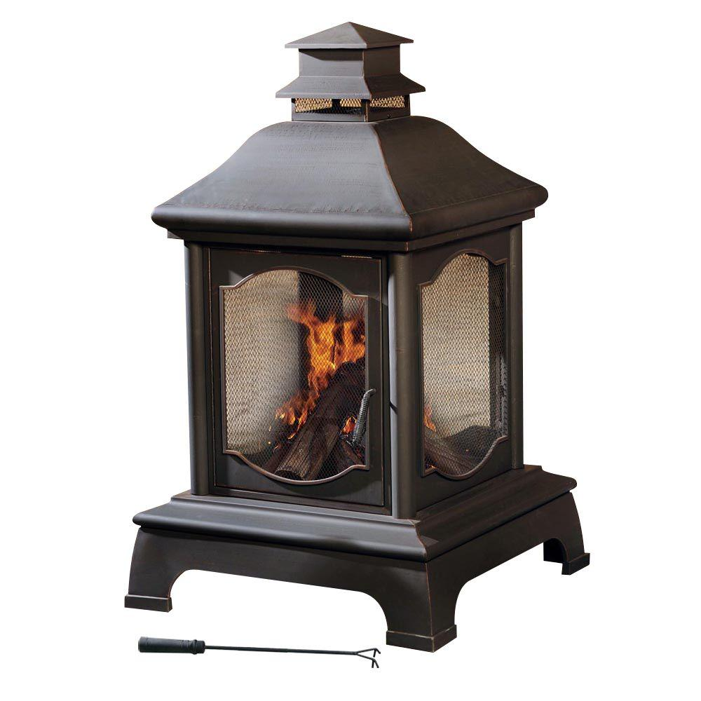 Sunjoy Louise 48 In. Chiminea-L-CM057PST