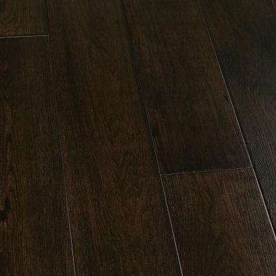 Hickory Wadell Creek 3/8 in. Thick x 6-1/2 in. Wide x Varying Length Click Lock Hardwood Flooring (23.64 sq. ft. / case)