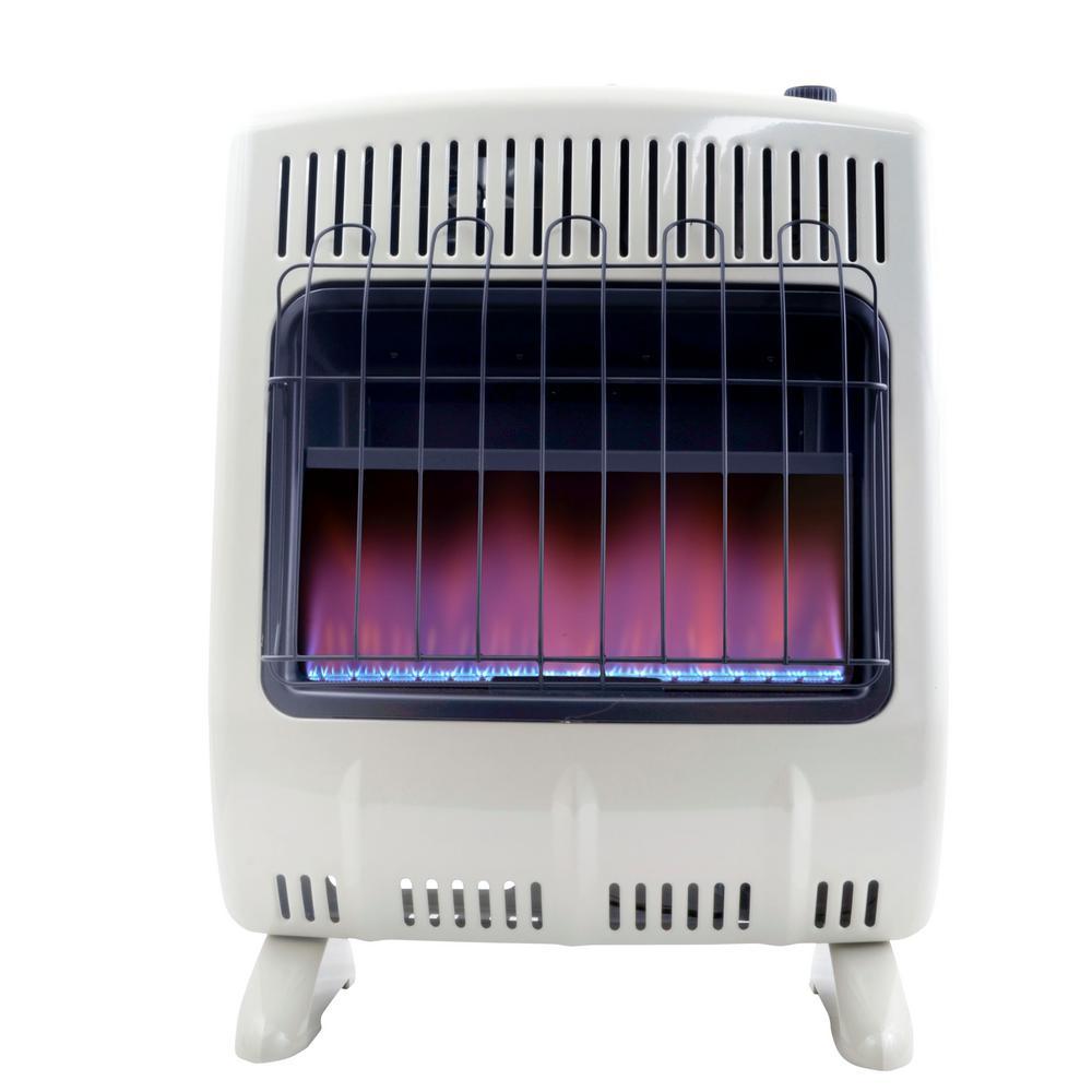 20,000 BTU Vent Free Blue Flame Propane Heater
