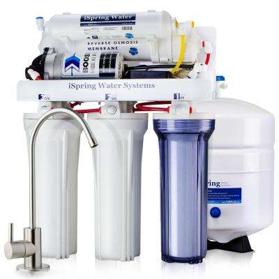 Maximum Performance Under Sink Reverse Osmosis Drinking Water Filtration System with Booster Pump