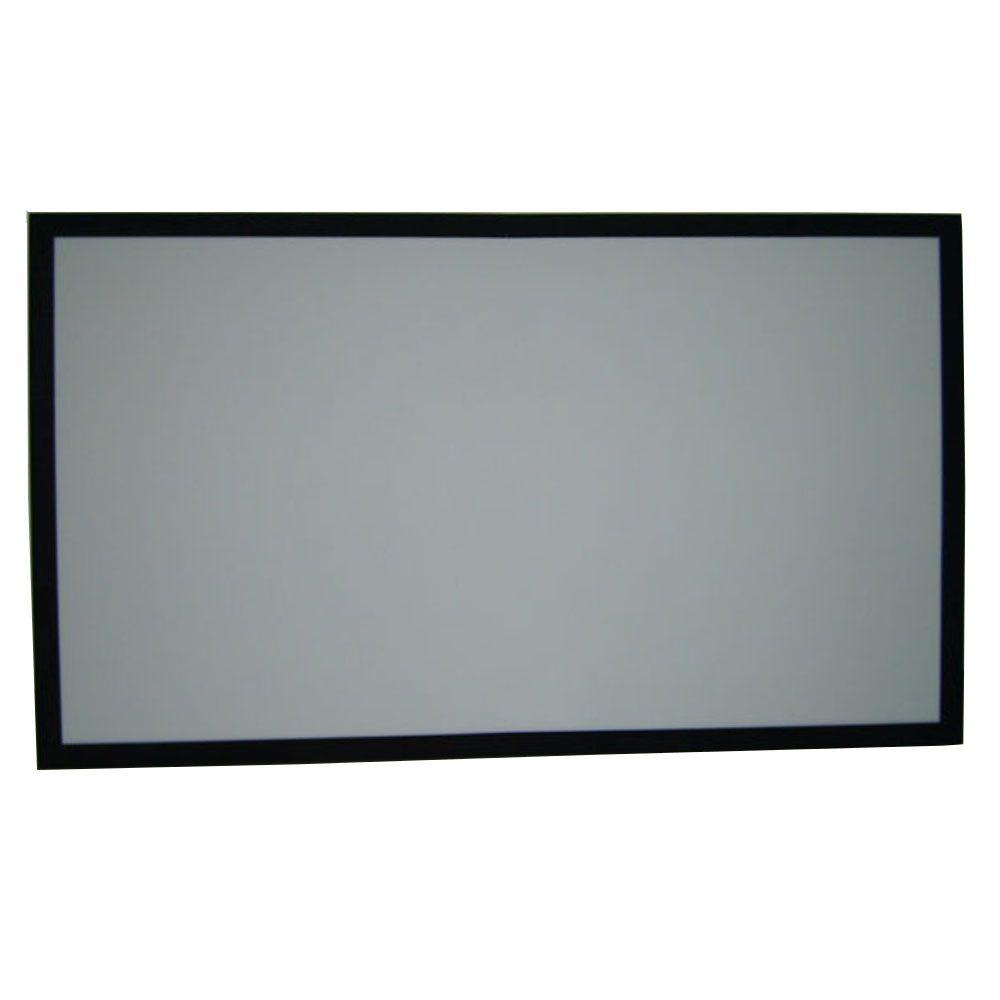 how to set up a projector screen