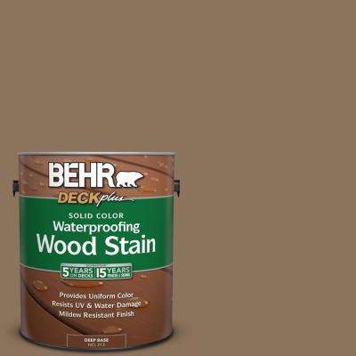 1 gal. #N260-6 Outdoor Cafe Solid Color Waterproofing Exterior Wood Stain