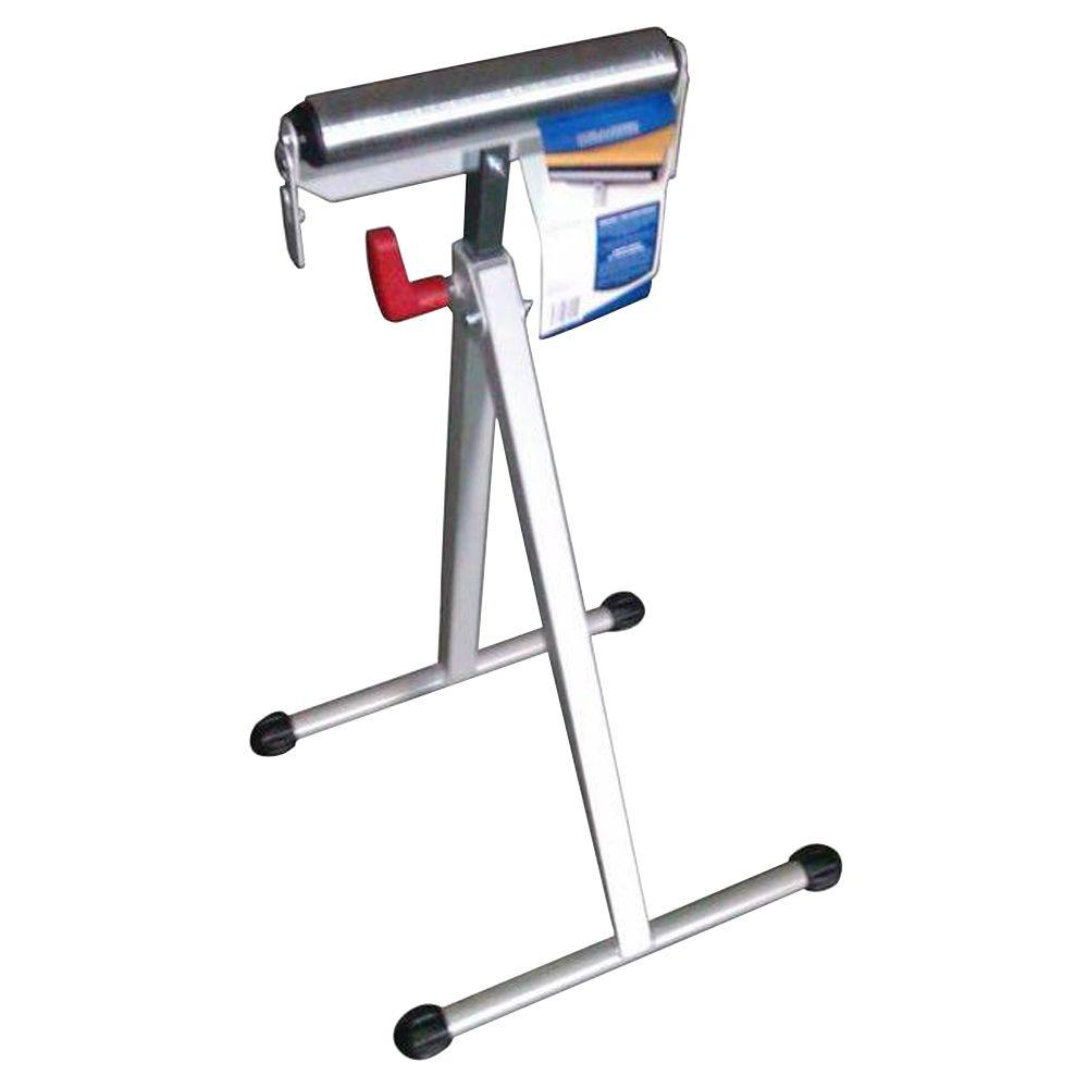 Hdx 43 In Steel Roller Stand With Edge Guide Ac43 The