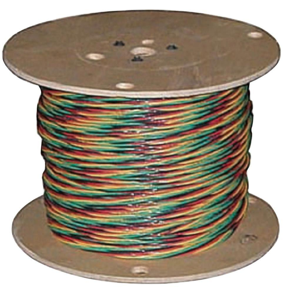 Southwire 150 ft. 12/3 Solid CU W/G Submersible Well Pump Wire ...