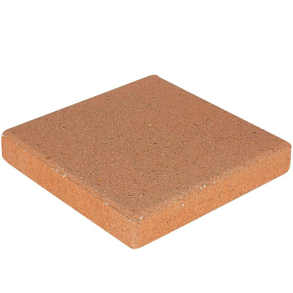 12 in. x 12 in. x 1.5 in. Terracotta Square Concrete