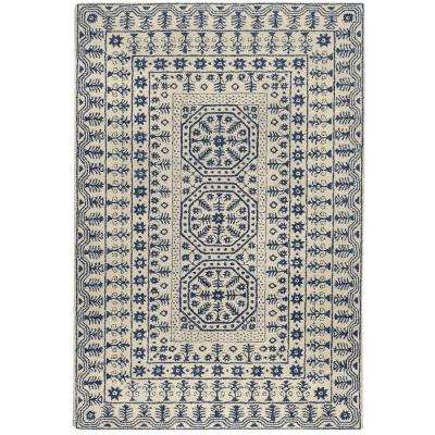 Amnon Ivory 9 ft. x 13 ft. Transitional Area Rug