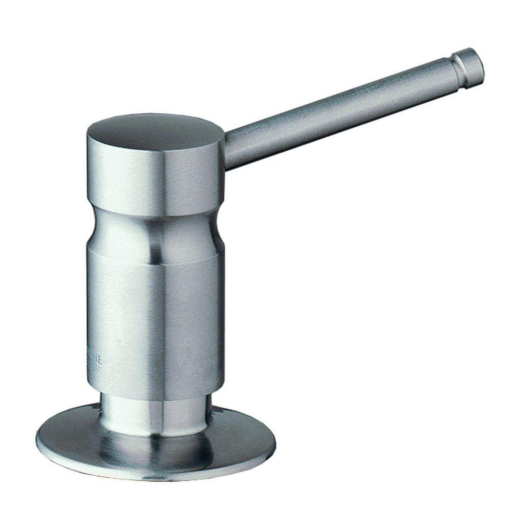 Grohe Soap And Lotion Dispenser In Stainless Steel