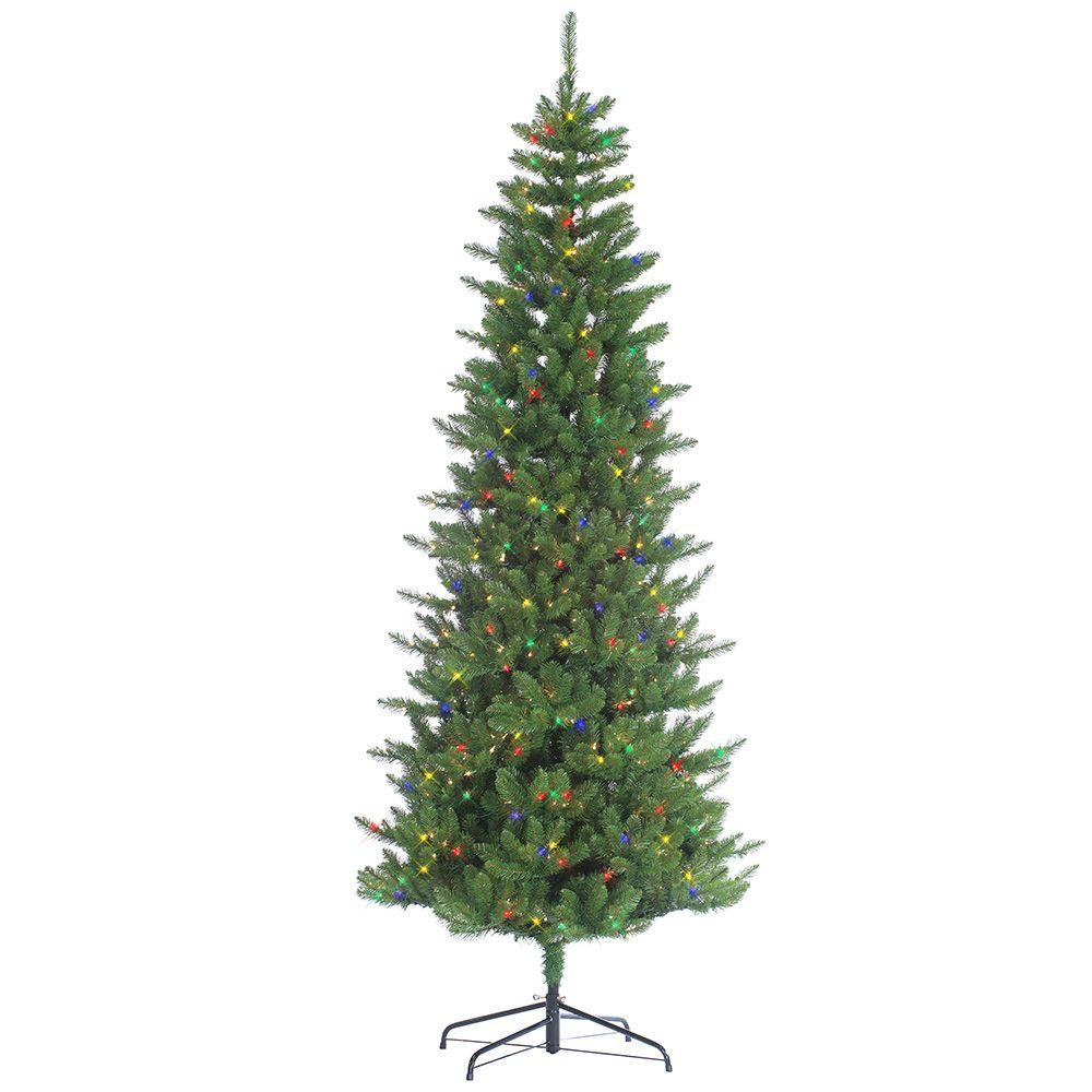8 Ft Pre Lit Christmas Trees Artificial