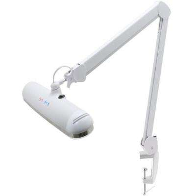 Dual Color LED Task Light with Table Clamp