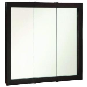 Design House Ventura 36 inch W x 30 inch H x 6 inch D Framed Tri-View Surface-Mount... by Design House