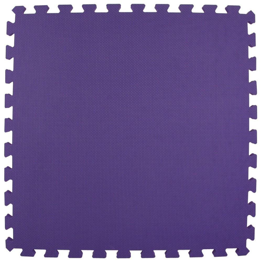Greatmats Premium Purple 24 In X 24 In X 5 8 In Foam