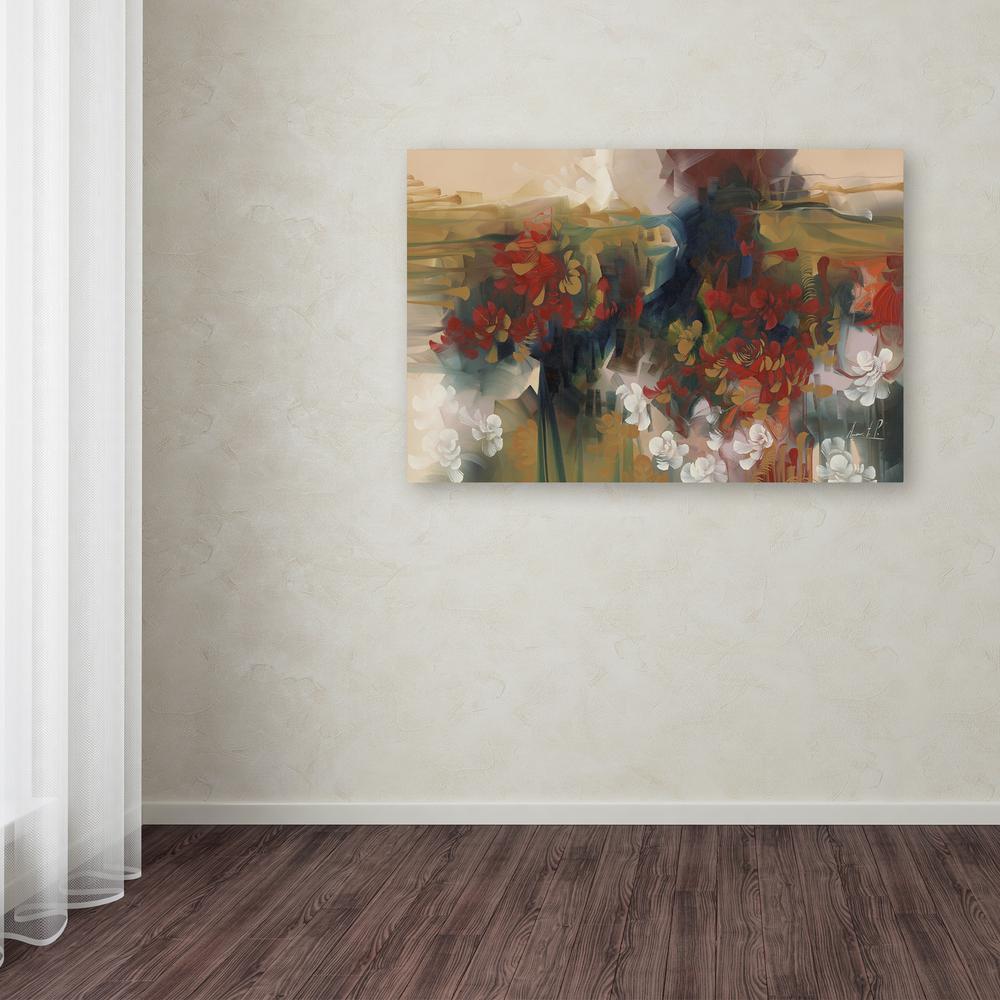 Trademark Fine Art 30 in. x 47 in.  Leopard  by Masters Fine & Trademark Fine Art 30 in. x 47 in.