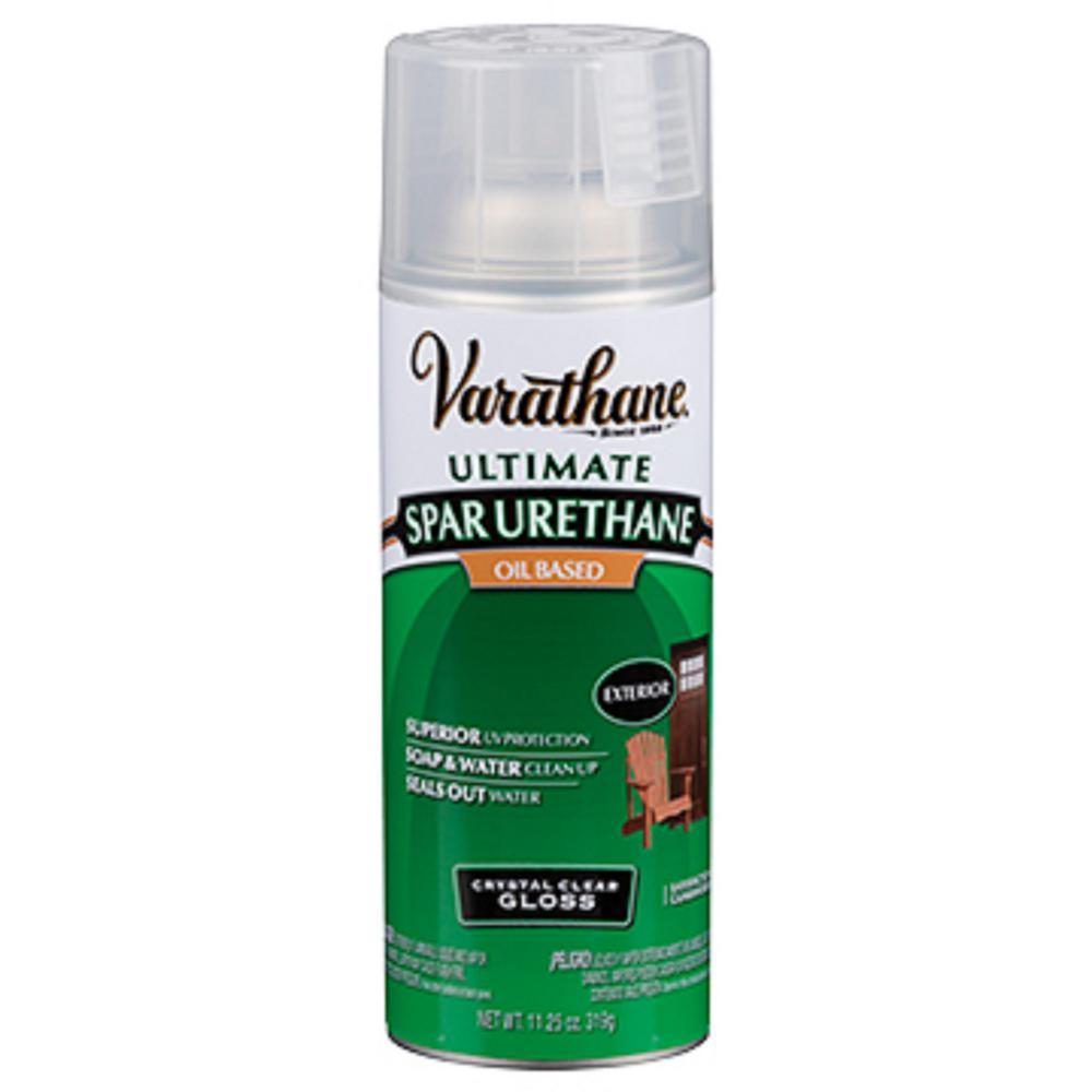 11 oz. Clear Gloss Oil-Based Spar Urethane Spray (6-Pack)
