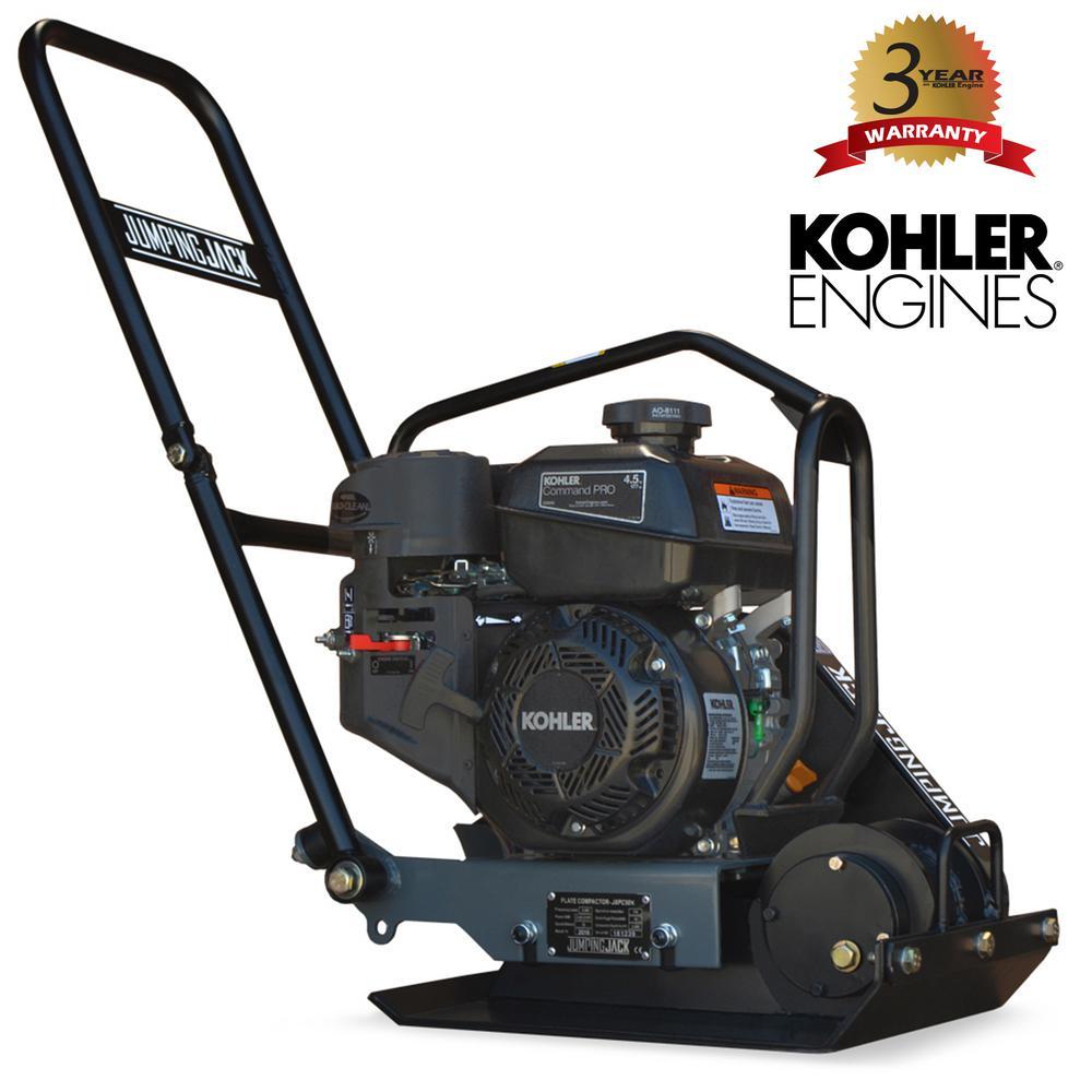 4.5 HP Kohler Vibratory Plate Compactor for Soil Compaction