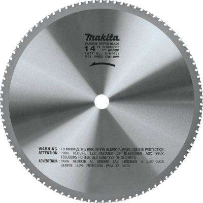 14 in. (90T) Carbide-Tipped Metal Cutting Blade Ferrous Metal - Thin Gauge